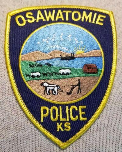 KS Osawatomie Kansas Police Patch