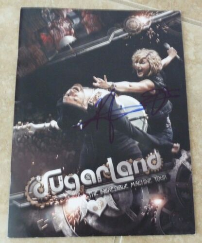 Sugarland Band Signed Autographed 2011 Tour Program Psa Or Beckett Guaranteed