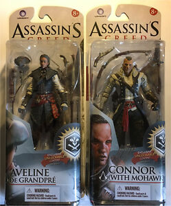 2 mcfarlane Assassins Creed figures 2014 moc