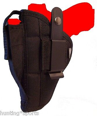 Gun Holster With Mag Pouch Fits S&w 22a With 5.5 Barrel Use Left Or Right Hand