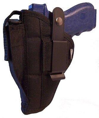 Side Gun Holster Pro-Tech Outdoors Black Nylon | Ambidextrous | WSB-7