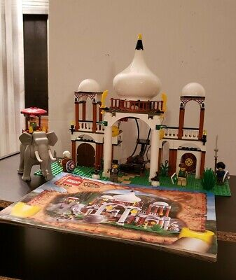 Vintage Lego Set 7418-1 Scorpion Palace Orient Expedition Complete - Retired