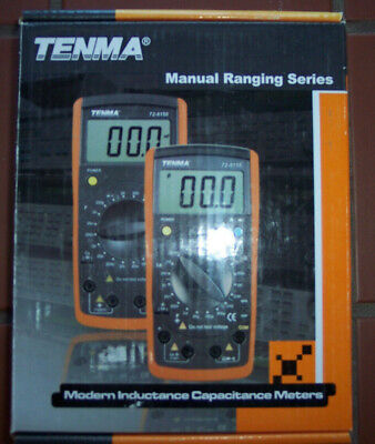 Brand New Multimeter W Probes Tenma 72-8155 Lcr Meter With Hfe Transistor