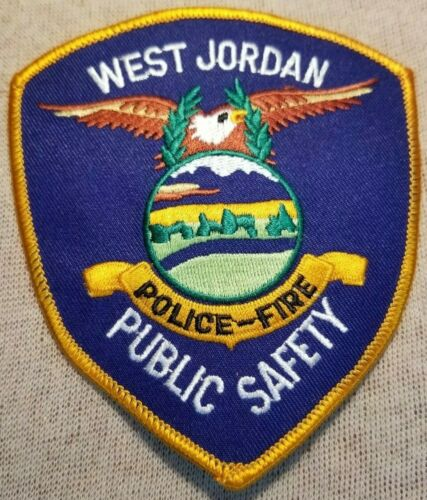UT West Jordan Utah Police/Fire Public Safety Patch