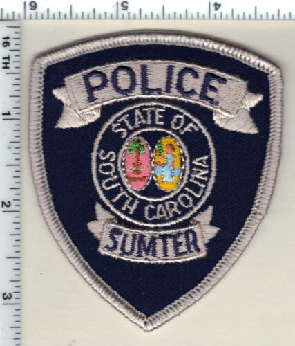 Sumter Police (South Carolina) large Shoulder Patch new from 1991