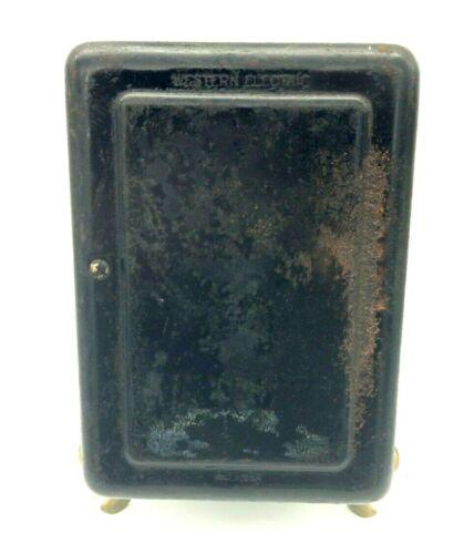 Western Electric 634BA Black Metal Subset/Ringer PARTS or REPAIR, Free Shipping!