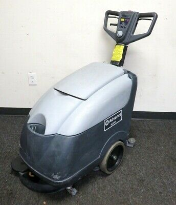 Advance Sc400 Electric Powered Walk Behind Floor Scrubber. 115v W Nilfisk Brush