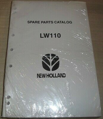 New Holland Lw110 Wheel Loader Spare Parts Manual Book Catalog New