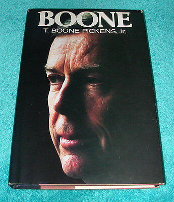 T  Boone Pickens  Jr  1987 Hb Dj Autobiography Book Mesa Petroleum Oil Business
