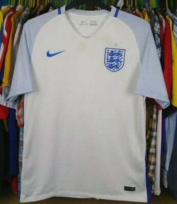ENGLAND 2015 HOME NIKE FOOTBALL SOCCER SHIRT JERSEY TOP XL ADULT