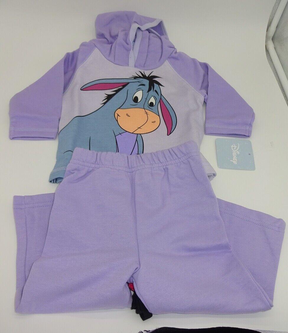 Disney Eeyore Winnie The Pooh Baby Girls Hooded Fleece Jacke
