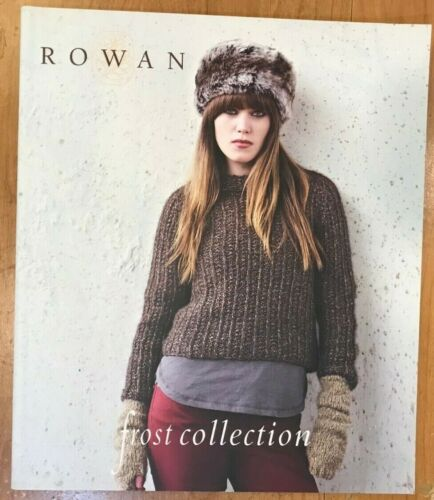 Rowan Yarns Knitting Pattern Book - Frost Collection