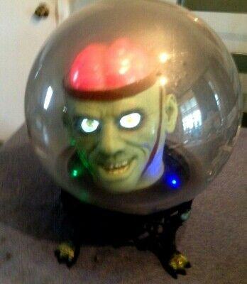 Halloween -  Talking Spirit Globe  -  Working