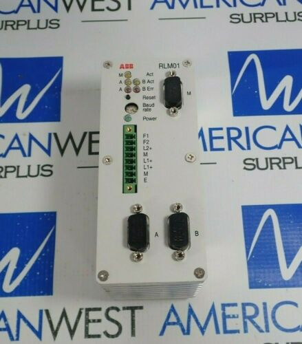 ABB REDUNDANCY LINK MODULE RLM 01 FOR PROFIBUS P 3BDZ000398R1 *NEW*