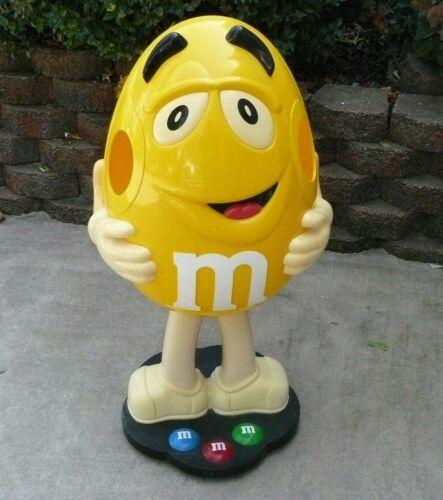 "M&M Store Display - Character Yellow Peanut - 40"" Tall"