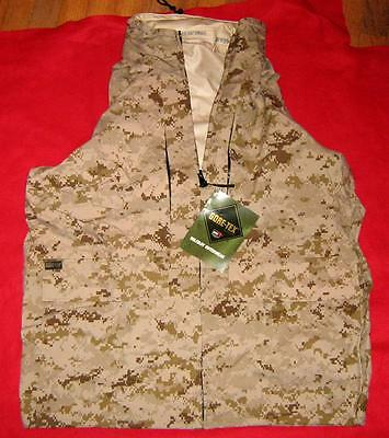 Used, USMC DESERT MARPAT GORETEX JACKET LARGE REGULAR  NIP for sale  Saint Matthews