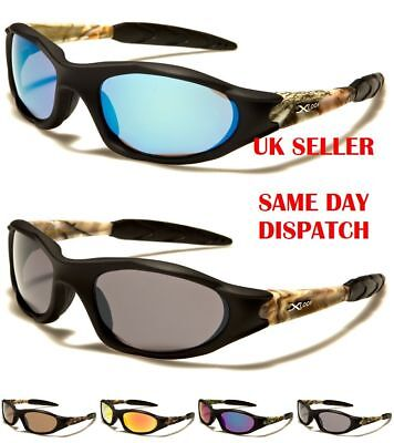 Camo Sport XLOOP Designer Mens Womens Rectangle Wrap Sunglasses 100%UV400 2532