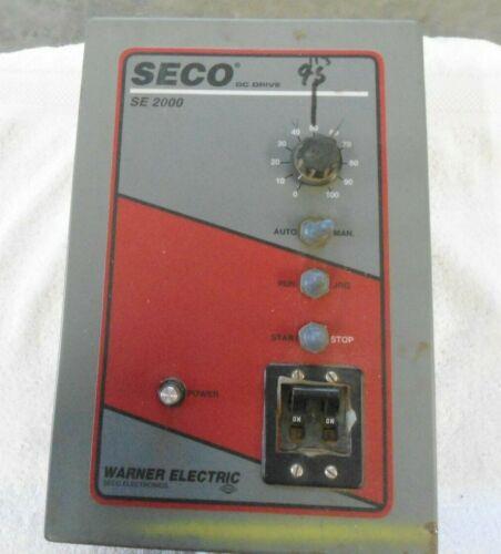 WARNER ELECTRIC SECO SE2000 DC Drive        SE2135