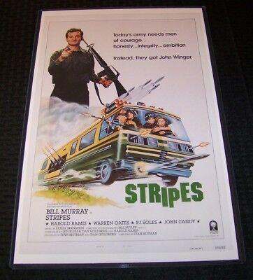 Плакаты и картинки Stripes 11X17 Movie