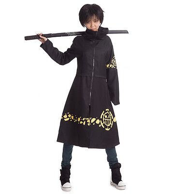 One Piece Trafalgar Law Anime Mantel Cape Umhang Cosplay karneval Kostüm Costume