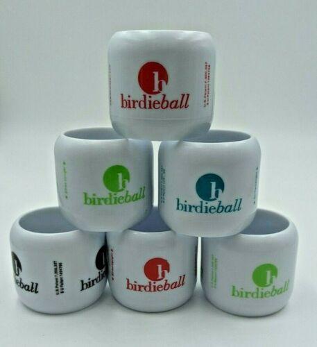 BirdieBalls Set of 6 Limited Flight Practice Golf Balls New Repackaged Training