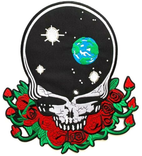 The Grateful Dead - Space your Face - Extra Large Patch Over-Sized / Emblem Logo