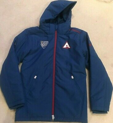 2020 Colorado Avalanche Player Issued Stadium Series Fanatics Parka Size Large Colorado Avalanche Player
