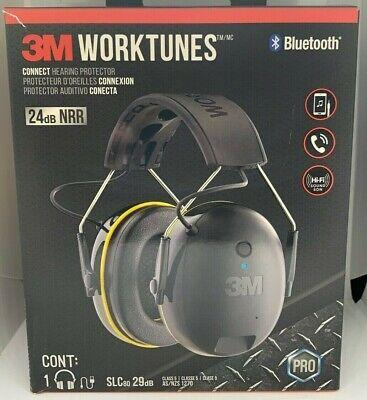 Heavy Duty Ear Defender 3M Work Tunes Pro FM Radio Headset Safety Reading 32 Db
