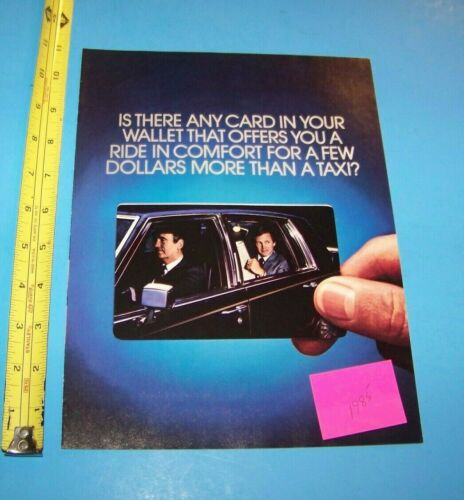 """Citicorp Diners Club  Print Advertisement Vintage 1985 """"Introducing Diners Club"""""""