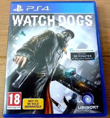 PS4 WATCH DOGS by Ubisoft UK PAL Region 2 for Playstation 4 segunda mano  Embacar hacia Spain