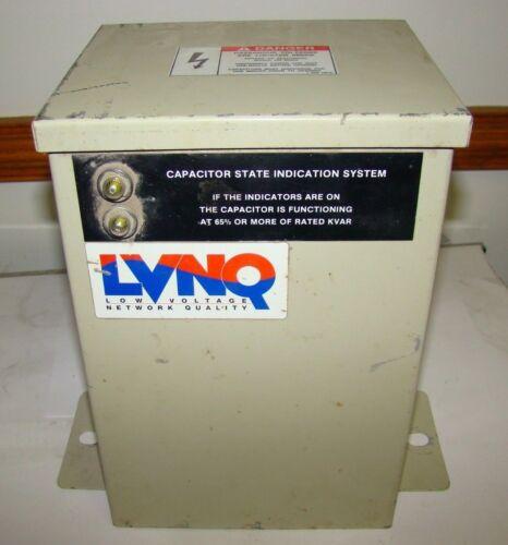 ABB C484G22.5-2LF Power Factor Capacitor, 22.5 KVAR, 480V, 3-Pole, 60Hz, Used