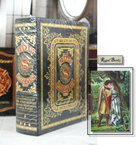 SHAKESPEARE ILLUSTRATED LIBRARY - Easton Press - HUGE BOOK - RARE - SEALED!