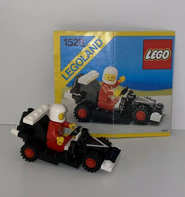LEGO Legoland Classic Town, 1528 - Race Dragster, 100% - Rare Hard to Find, 1986