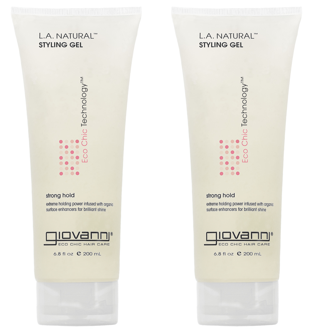 Giovanni L.A. Natural Styling Gel, 6.8 Fl Oz
