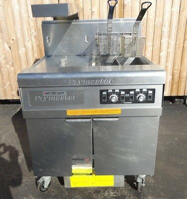 Frymaster High Efficiency Gas Fryer With Footprint Pro Filtration Model Fmph155