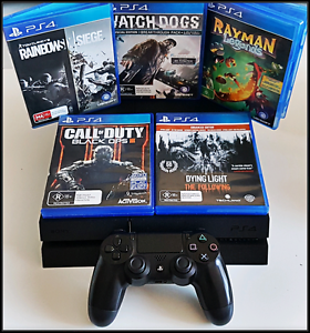 PS4 1TB, 2 Controllers, Balck Ops 3, UFC + 4 Games Playstation 4 Hurstville Hurstville Area Preview