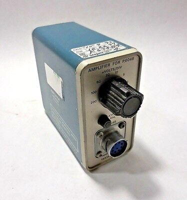 Tektronix Amplifier For P6046 Differential Probe No Power Supply Or Probe