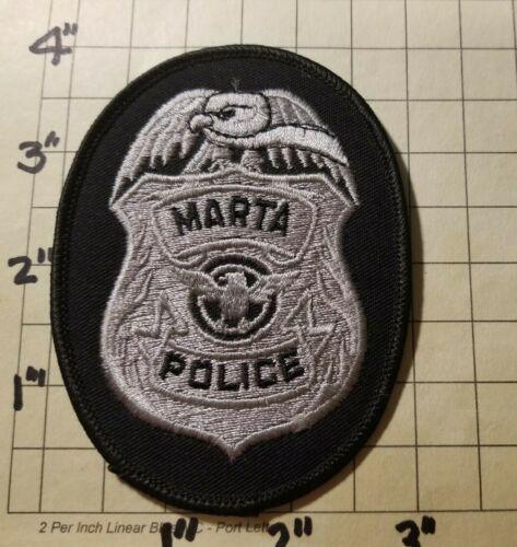 MARTA (Atlanta, GA) Transit Police Department Patch      ***NEW***