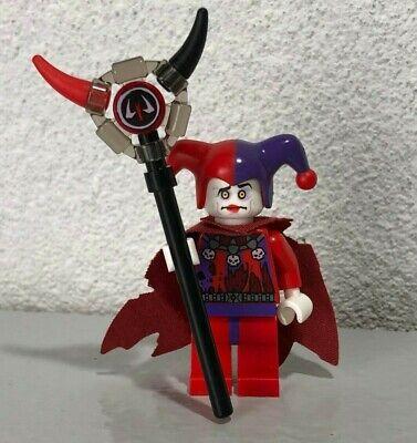 Jestro - Evil Jester Cape 70323 70316 Staff Nexo Knights  LEGO Minifigure  - Evil Jester Staff