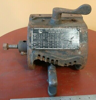 Atlas Clausing Model Number 4804 Lathe Quick Change Gear Box 12 Inch