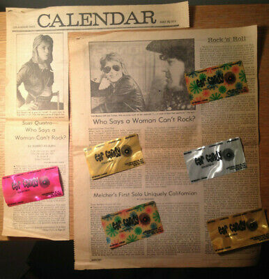 SUZI QUATRO 1974 Los Angeles LA Times ROBERT HILBURN INTERVIEW Article Clipping for sale  Shipping to India
