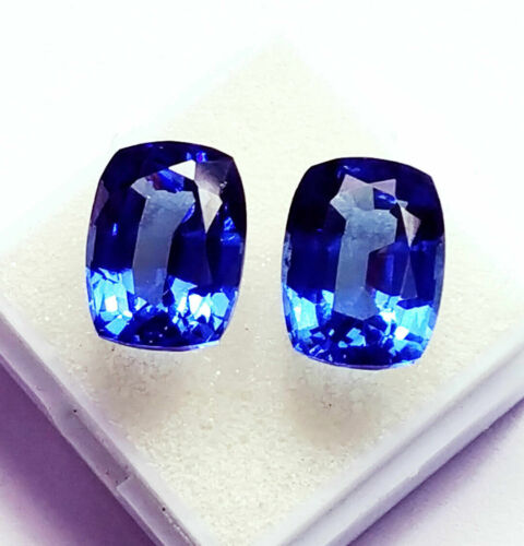 Natural Blue Sapphire Loose Gemstone 8 to 10 cts Certified Pairs Best Offer