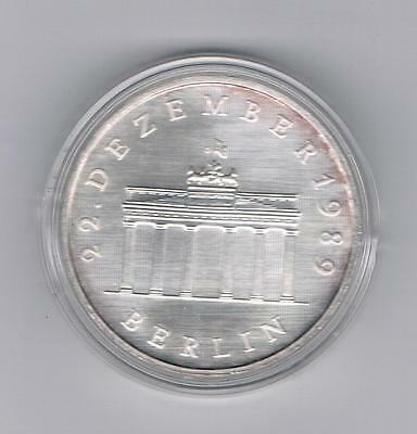 20 Mark 1990 DDR Brandenburrger Tor (Silber) - in Kapsel (UNC)