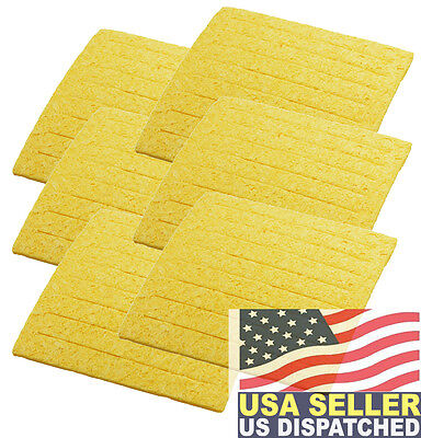 Weller Tc205 Pack Of 6 Soldering Sponge For Ph Stands Made In Usa