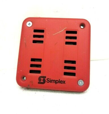 Simplex Horn 2901-9553 2901 9553 6v 1.8amp 60hz Fire Alarm Horn Mechanism