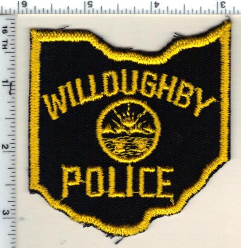 Willoughby Police (Ohio) Shoulder Patch from 1991