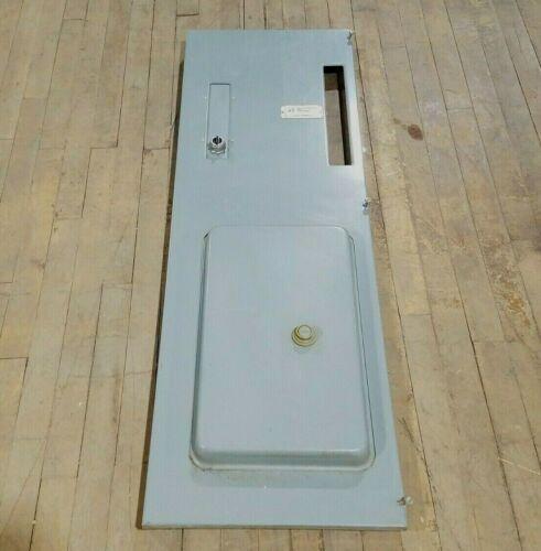 "Square D Model 5 MCC Feeder Motor Control Center Bucket Door Only Gray 47"" Tall"