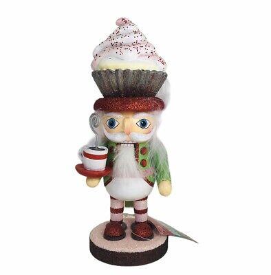 "Kurt Adler Hollywood Cupcake Hat Nutcracker Christmas Decor 9"""