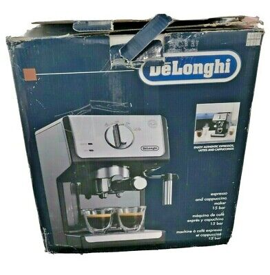 Open Box DeLonghi ECP3220 15 Bar Espresso and Cappuccino Machine MINT