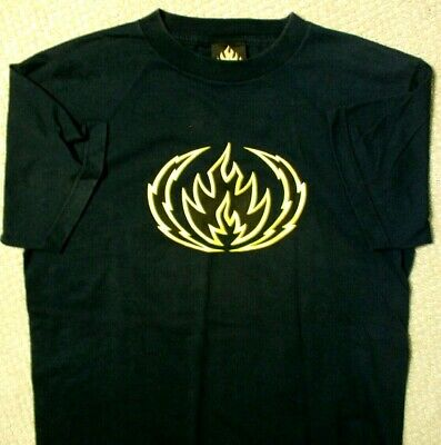 Vintage 90s BLACK LABEL Skateboard T Shirt Made in USA Mens Size M Skateboarding